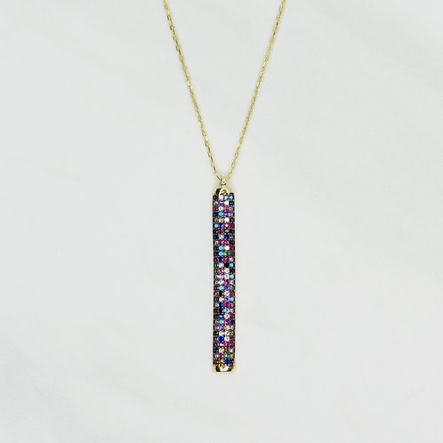 Techno Bar Necklace