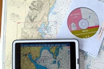 Carte électroniques et toutes les cartes papiers de la zone frequentée