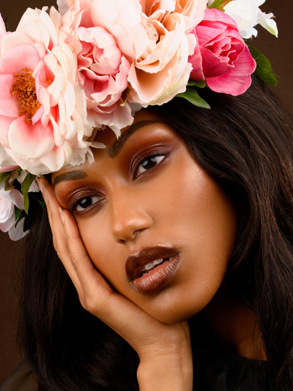 deep skin monocromatic makeup.jpg