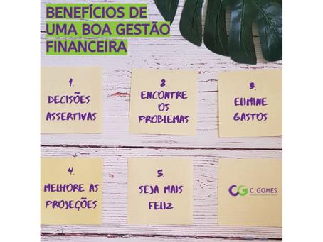 5 Vantagens de uma Gestão Financeira inteligente