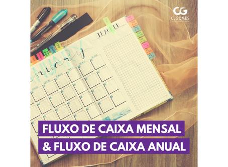 Fluxo de Caixa Mensal e Anual: diferenças e ajustes