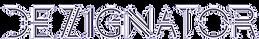 Dezignator Font Logo