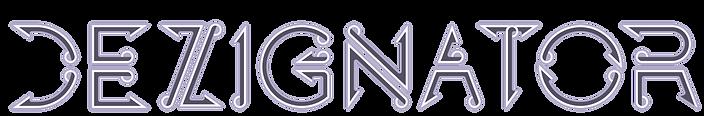 Dezignator Logo font Parametric Design business