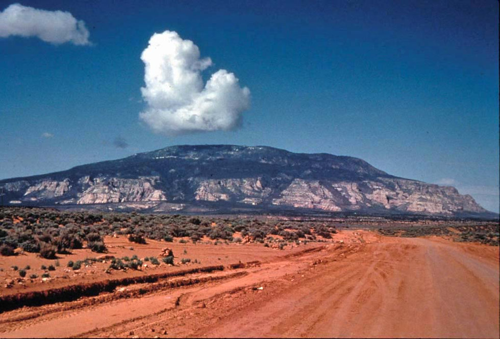 2005 - APPROACHING NAVAJO MTN FROM INSCR