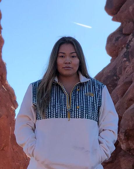 Native American women arches UT