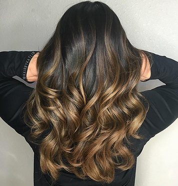 Dark Blend Ombre - Starting at