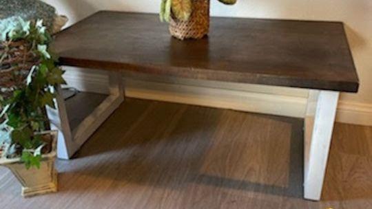 Farmhouse Wooden Coffee Table