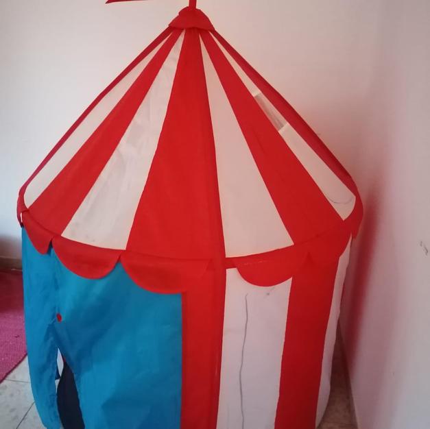 אוהל ילדים, מעט מקושקש