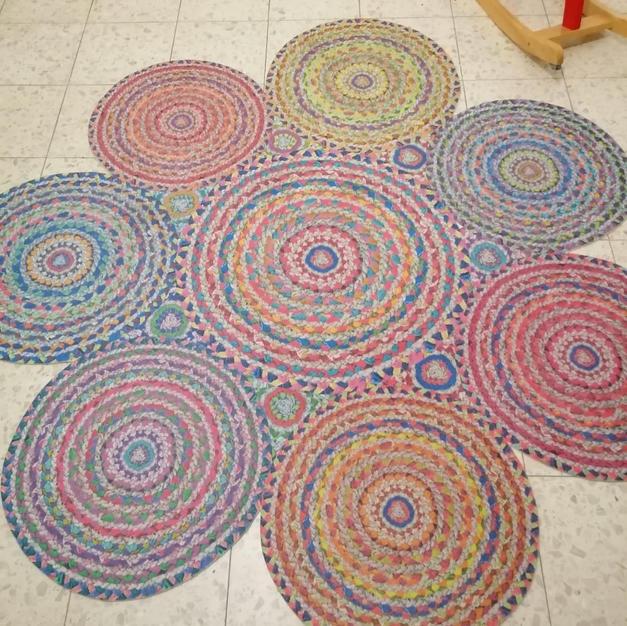 """שטיח """"כאילו"""" קלוע. מושלם"""