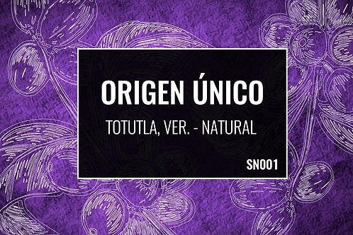 SN01 Totutla | Natural | [Frutas Secas]