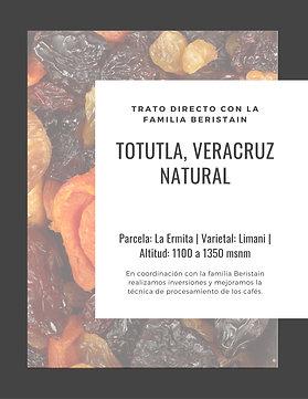 Totutla | Natural | [Frutas Secas]