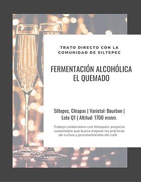 Q1 El Quemado | Bourbon | [Funky]
