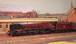 Princess Coronation class Pacific no 46245