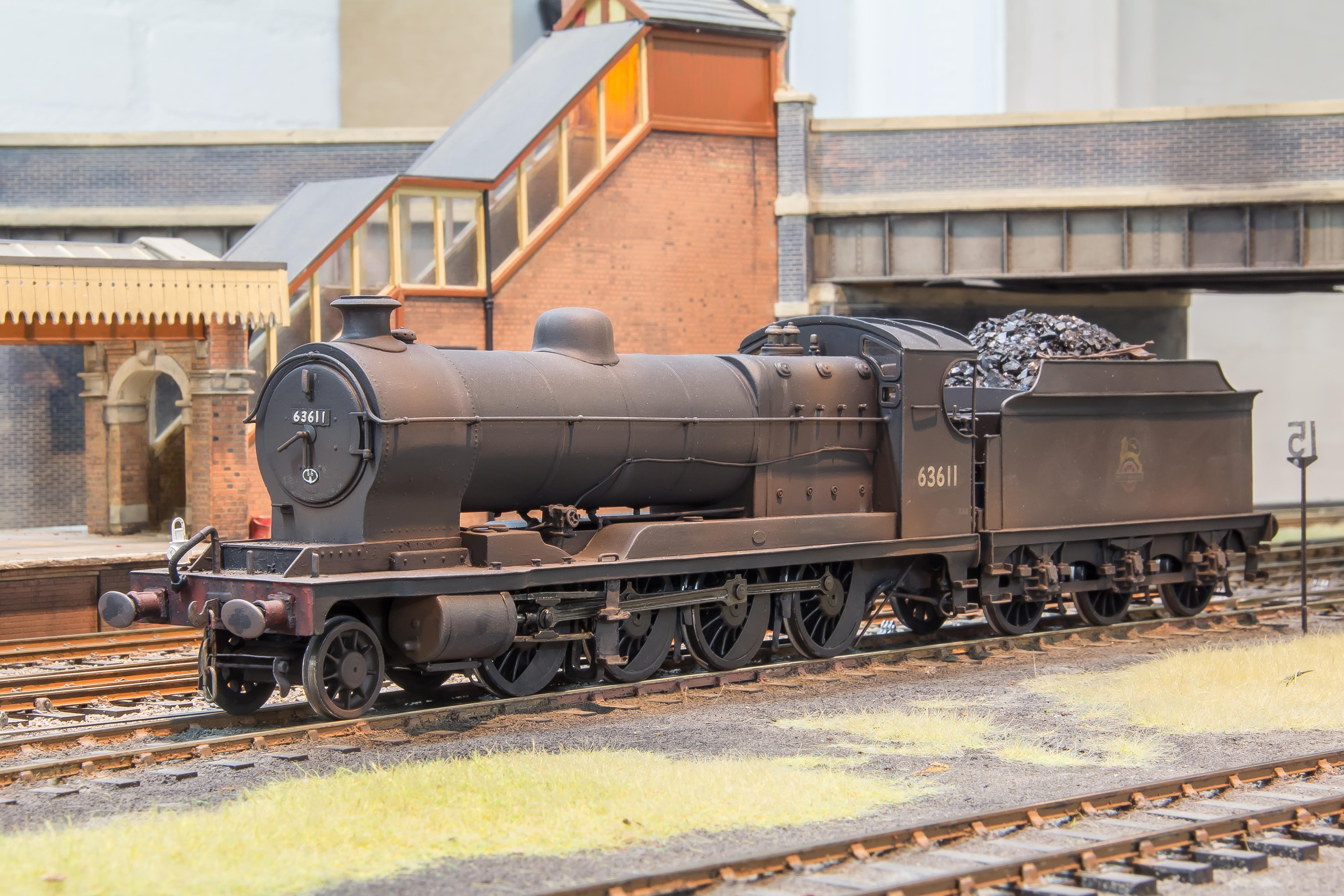 GCR Robinson 2-8-0, BR 04 63611