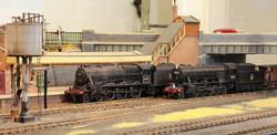 LMS Stanier 'Caprotti' black five 44757