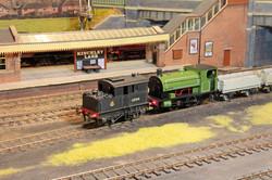 LNER vertical boiler class Y1 0-4-0, BR 90750