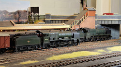 8944 LMS 'Patriots' 45541 'Duke of Sutherland' and un-named 45549