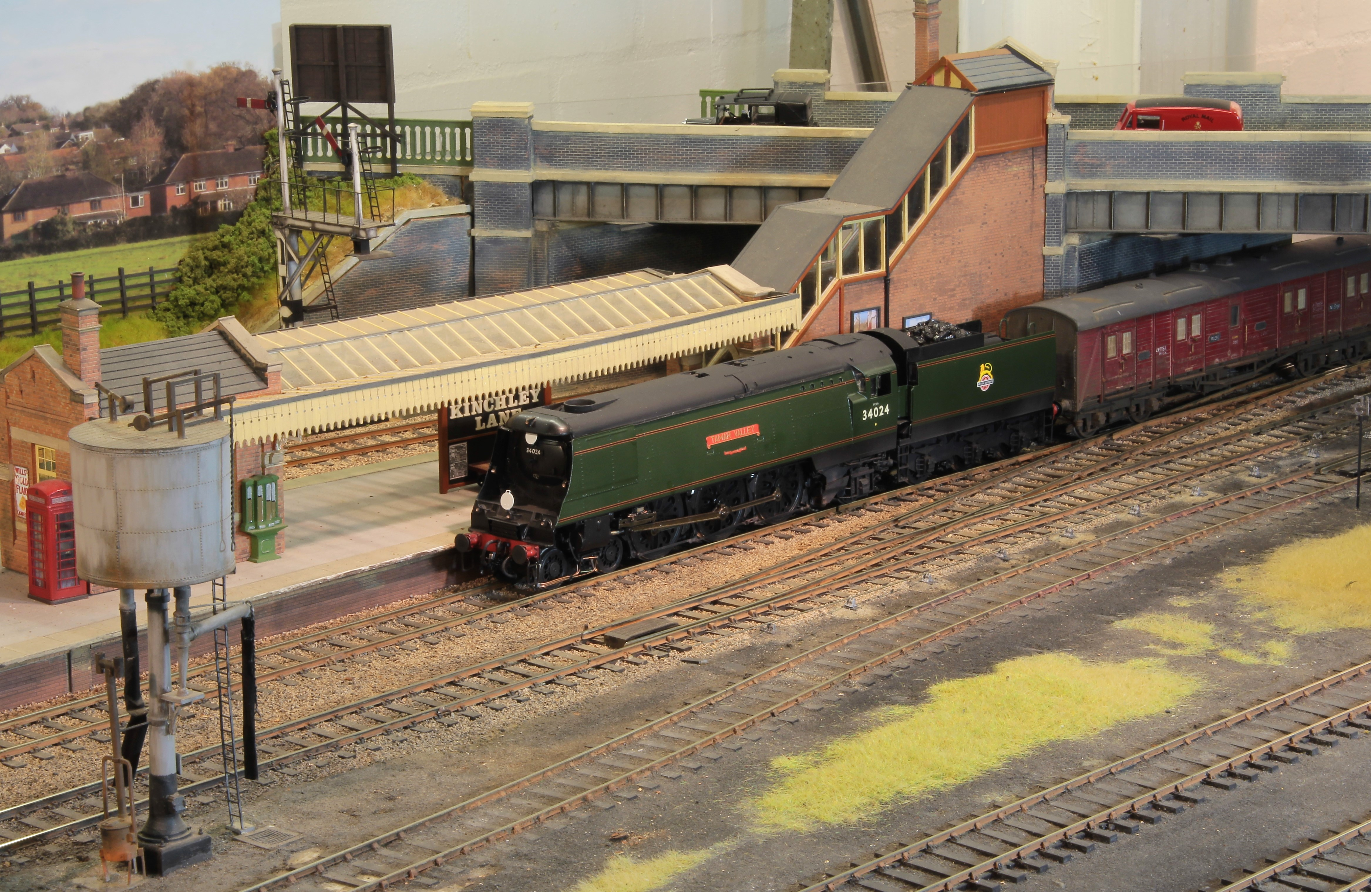SR West Country class 34024 'Tamar Valle