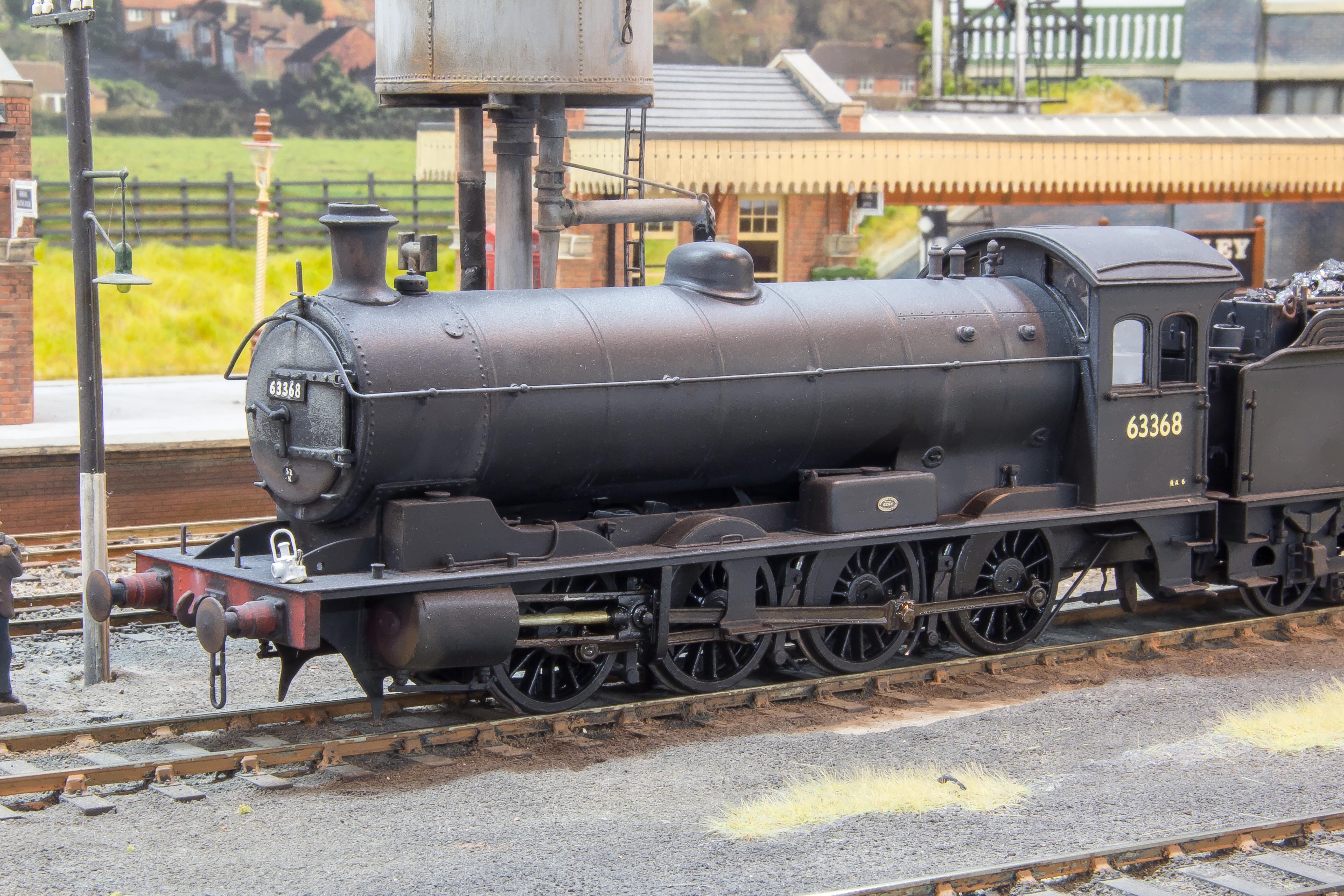 LNER/BR Q6 0-8-0