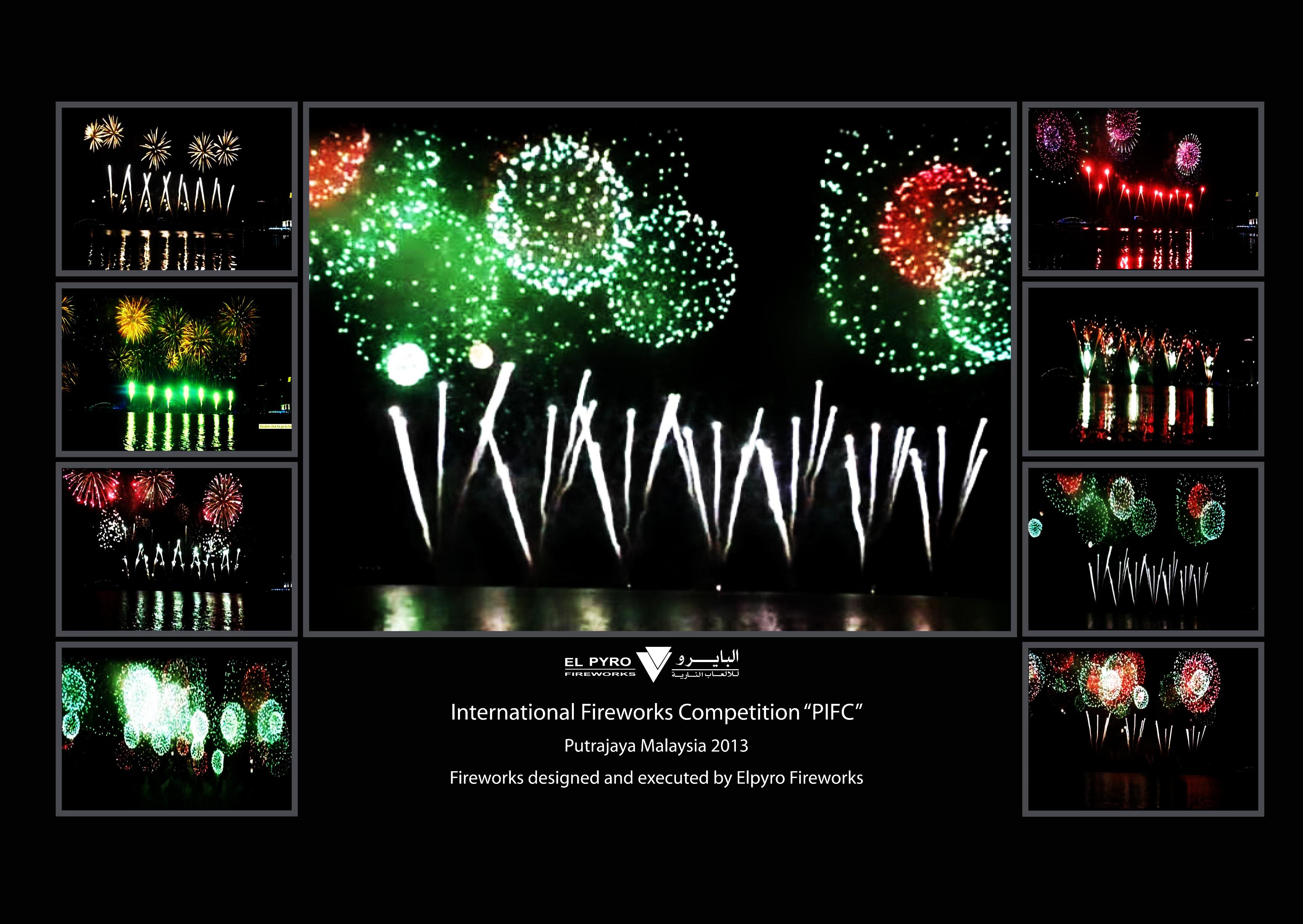 Putrajaya-Fireworks Competition