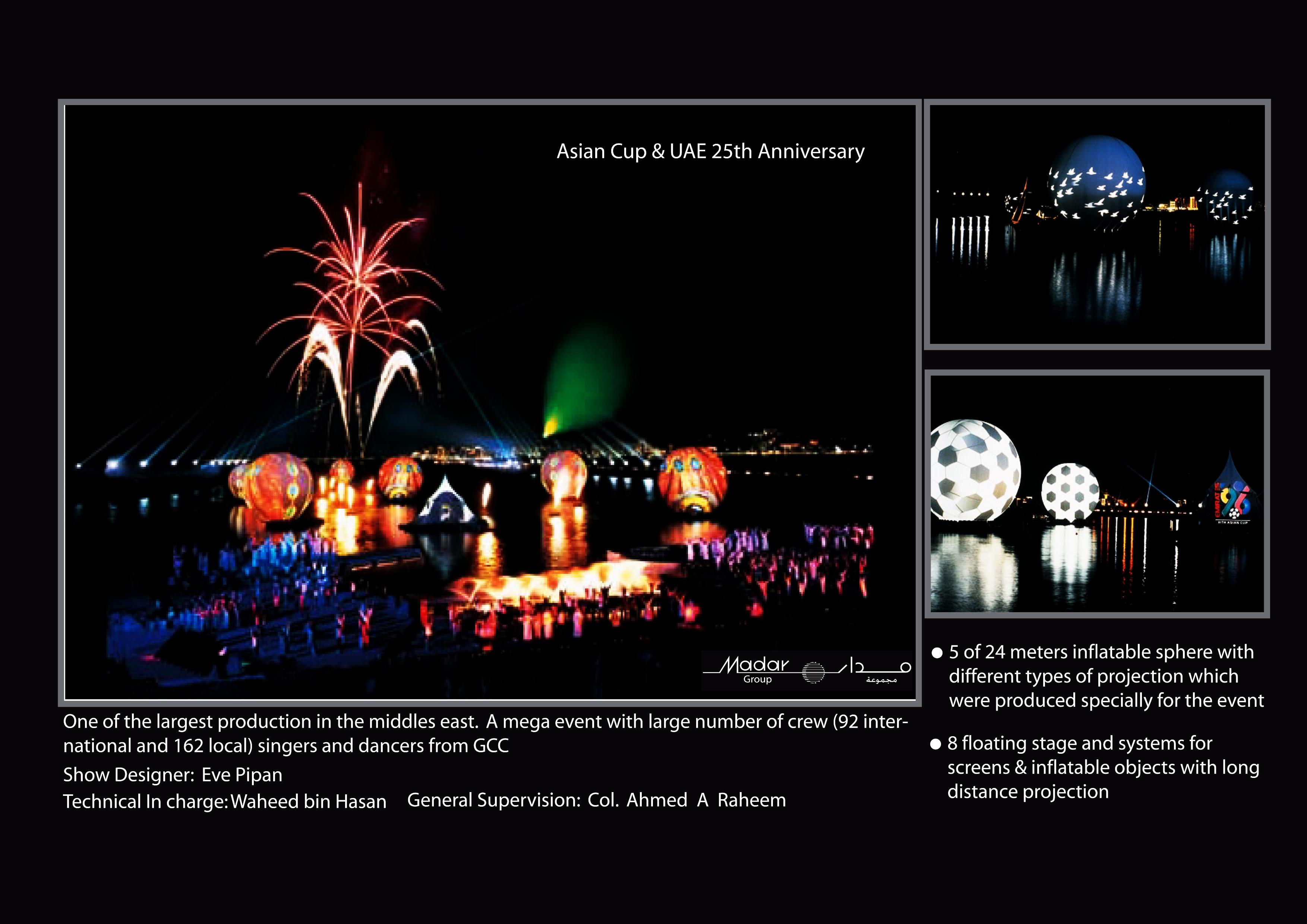 AsianCup OpeningCeremony in AbuDhabi