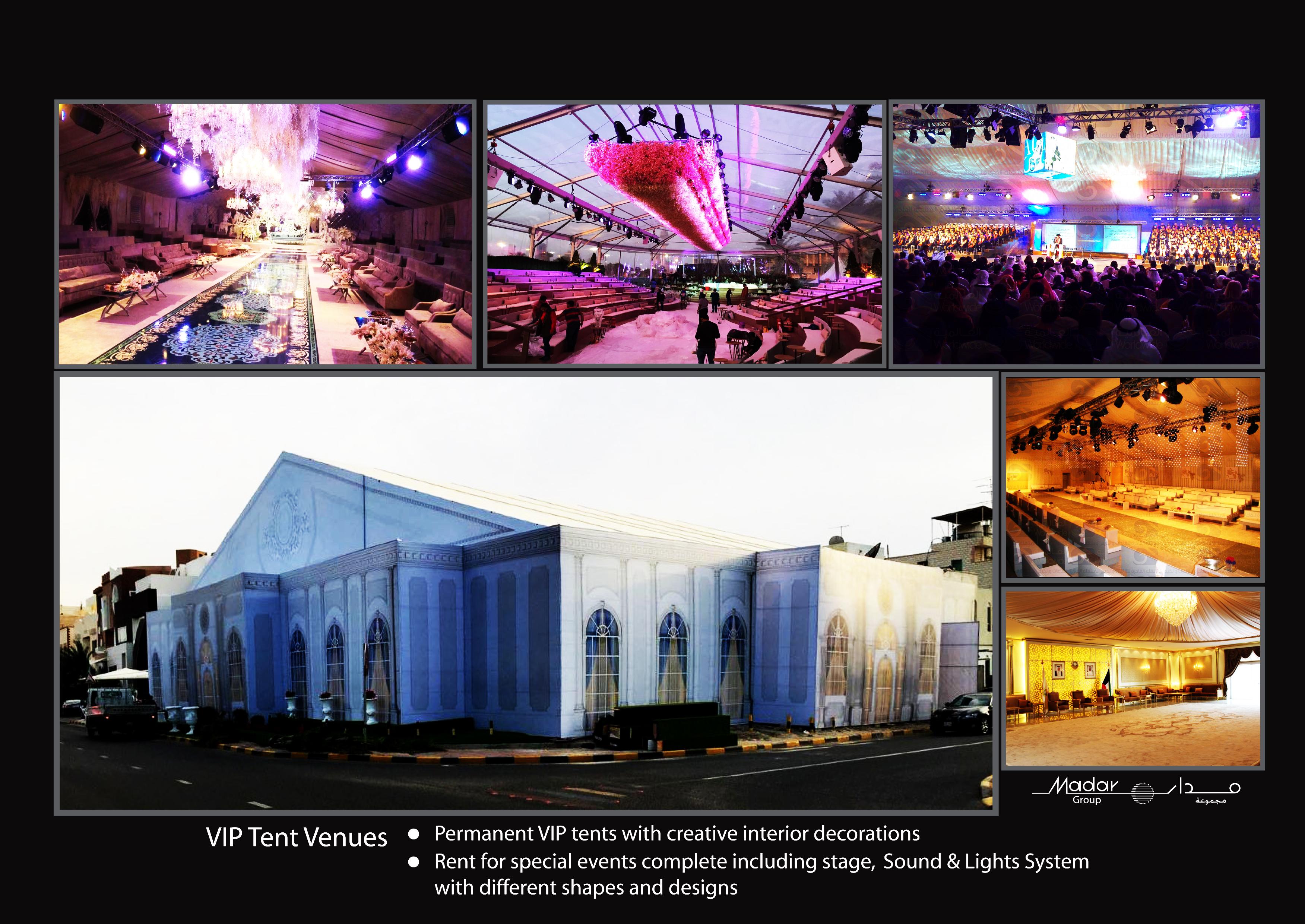 VIP Tent Venues