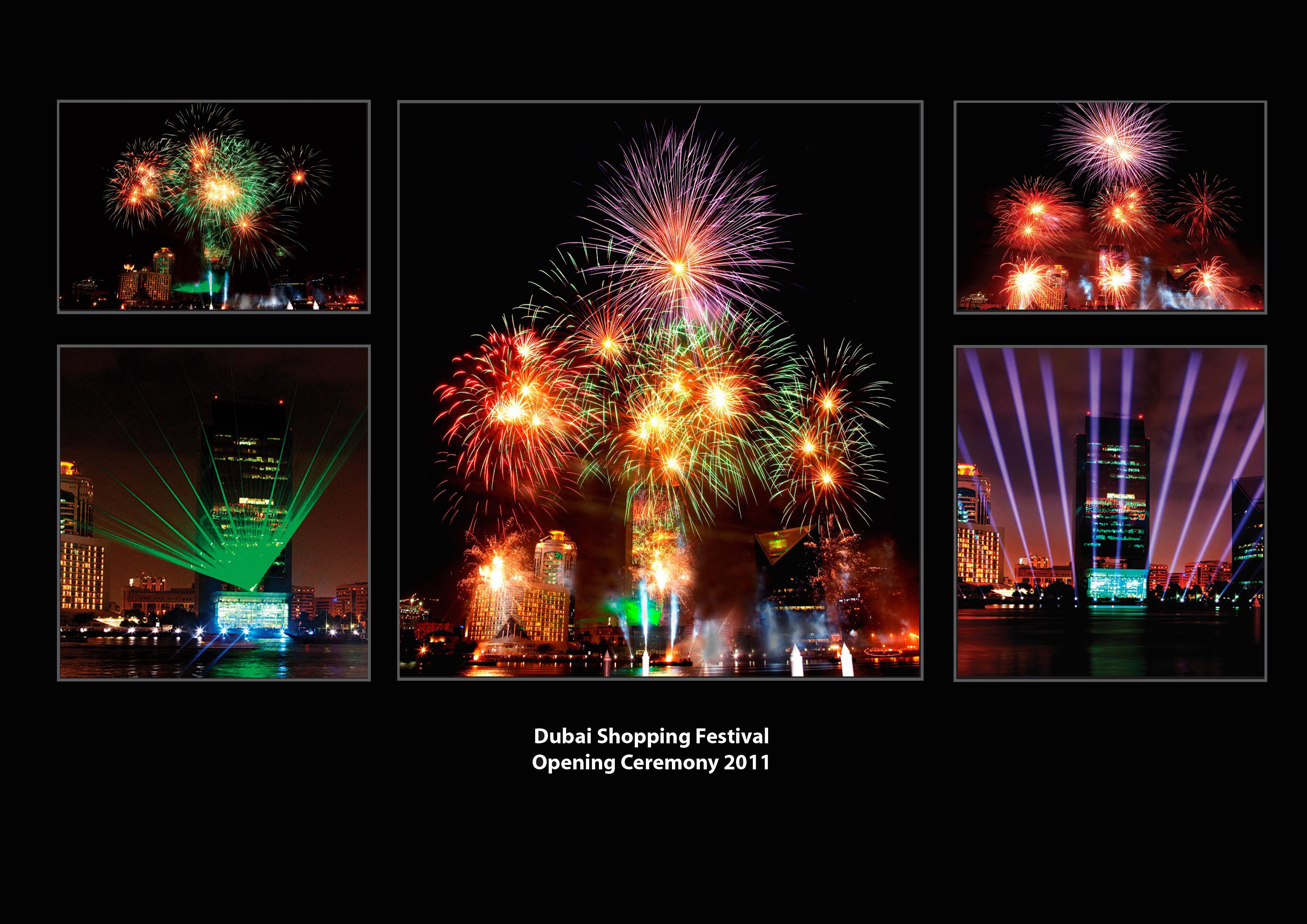 Dubai Shopping Festival-Opening 2011