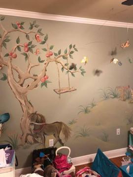 Storybook Animals Mural
