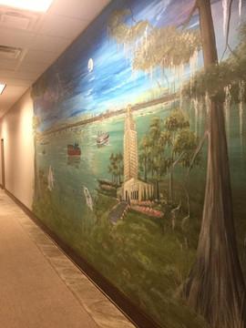 Louisiana River Mural