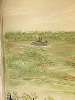 Louisiana Bayou Mural