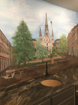 New Orleans Mural