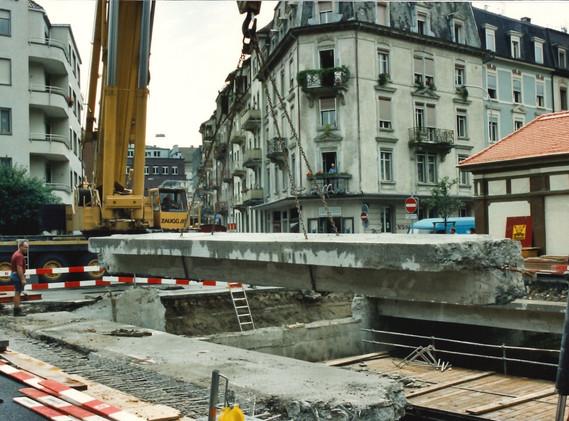 Brücke Spitalstrasse