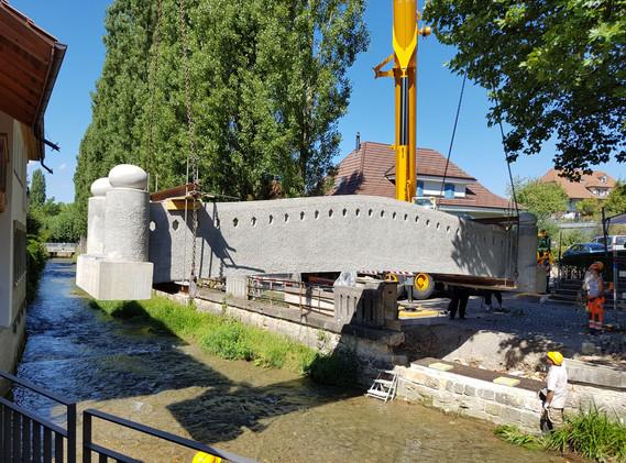 Brücke Herrengasse, Lyss