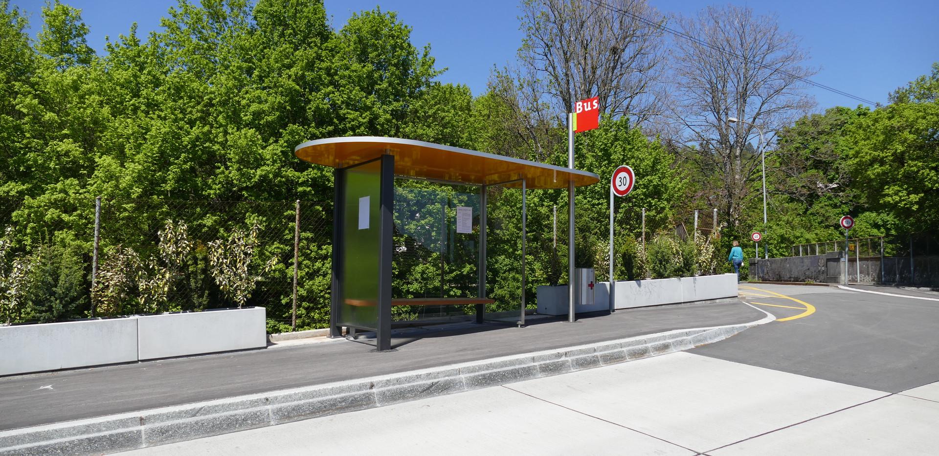 Bushaltestelle Ried, Biel