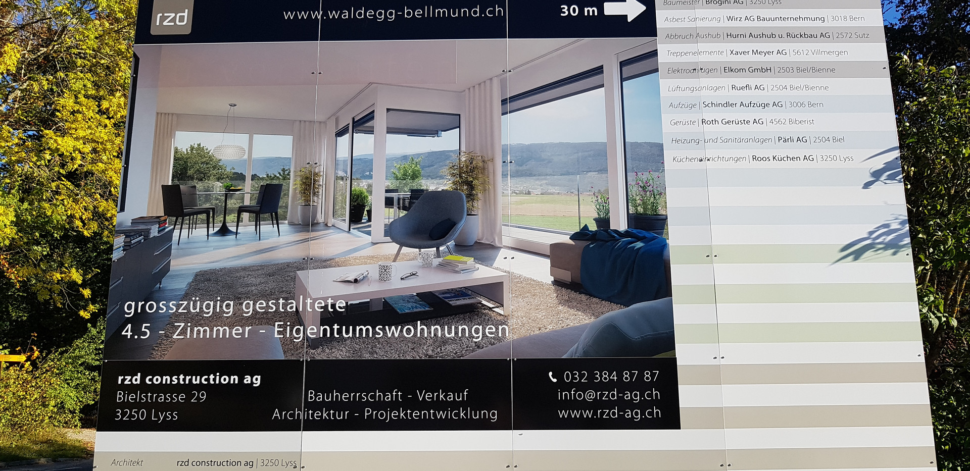 Wphnüberbauung Waldegg