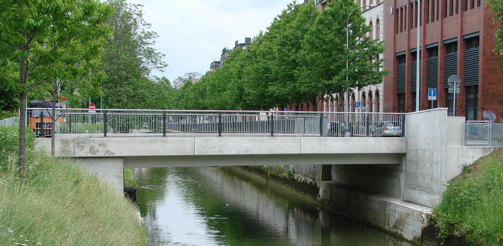 ausgeführte Brücke