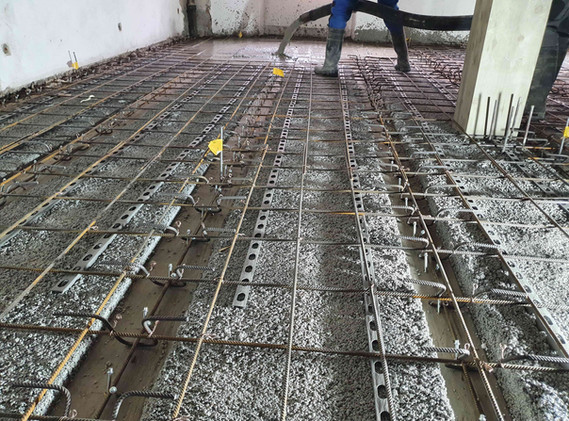 Holz-Beton-Verbunddecke