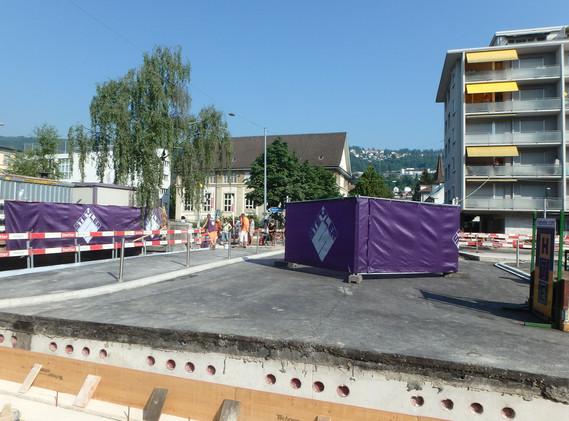 Brücke Jurastrasse Schüss-Kanal
