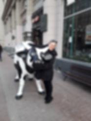 Lehmä ja Tanja
