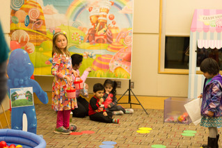 Life-Sized Candy Land Game Night