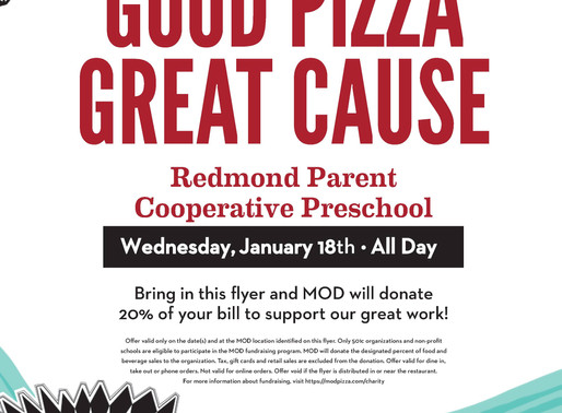Good Pizza-Great Cause!