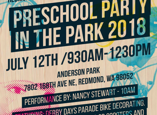 Party in the Park is Coming Up!