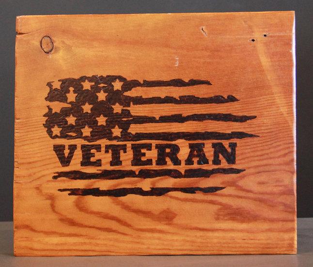 Veteran (Flag) Sign
