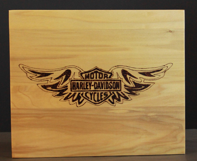 Harley Davidson Wing Sign