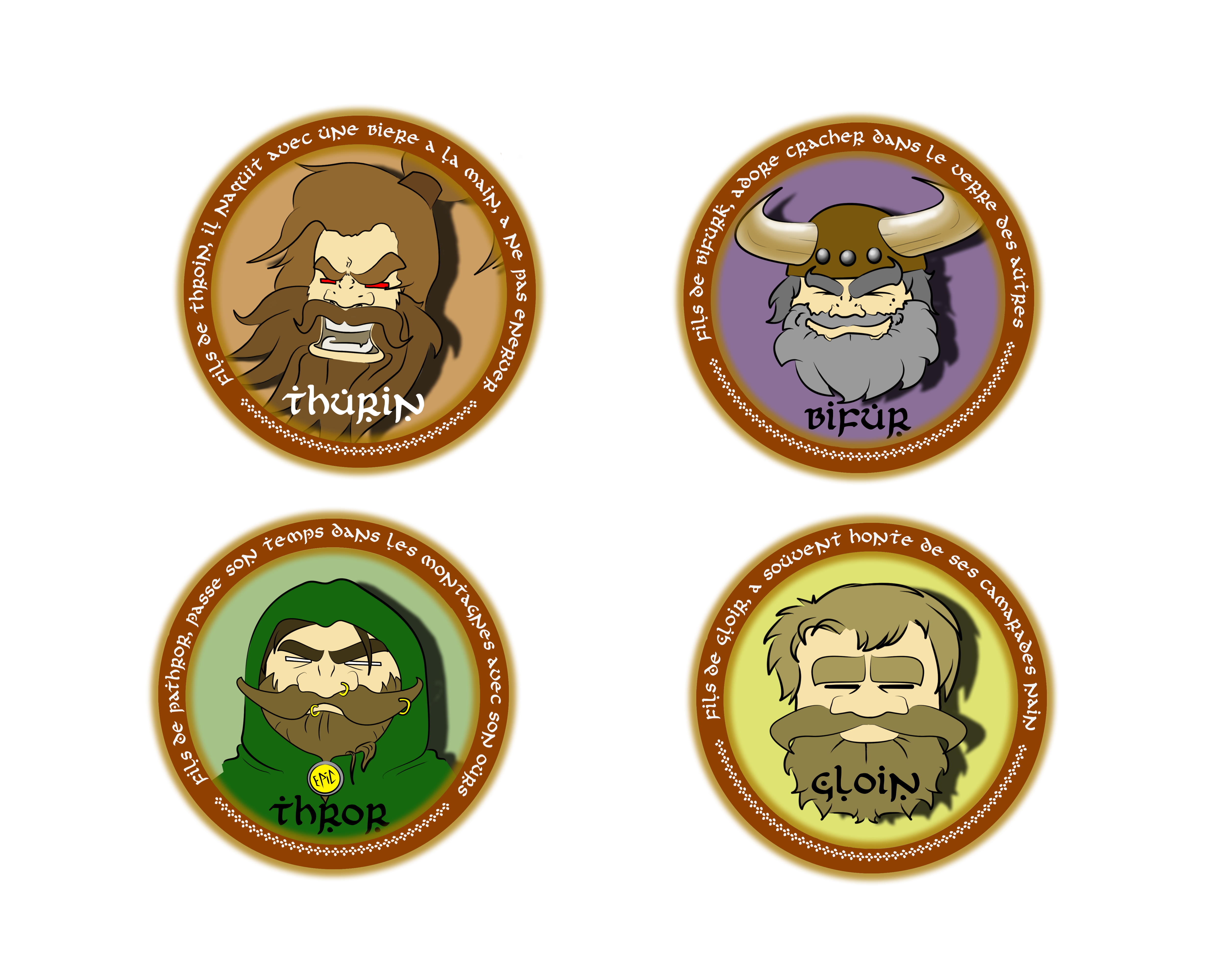 Character pucks