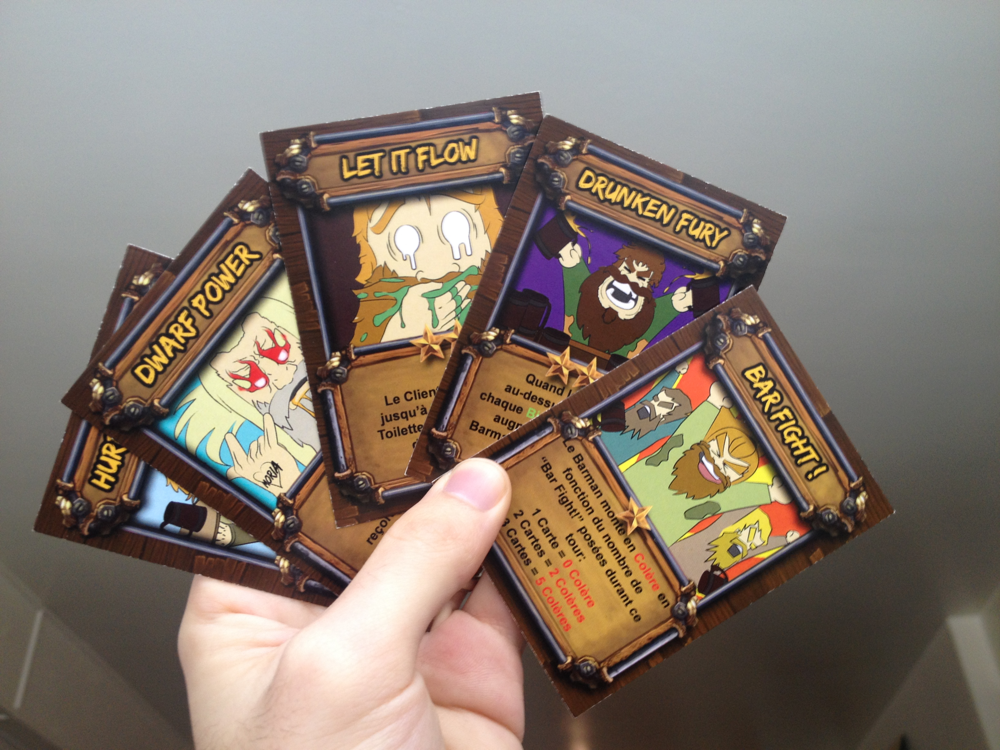 Example of cards