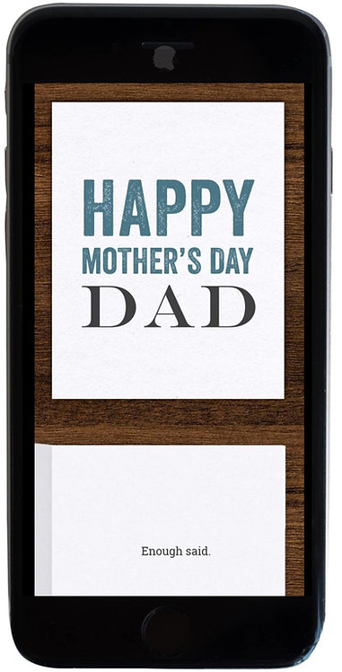 Mother's Day, Dad
