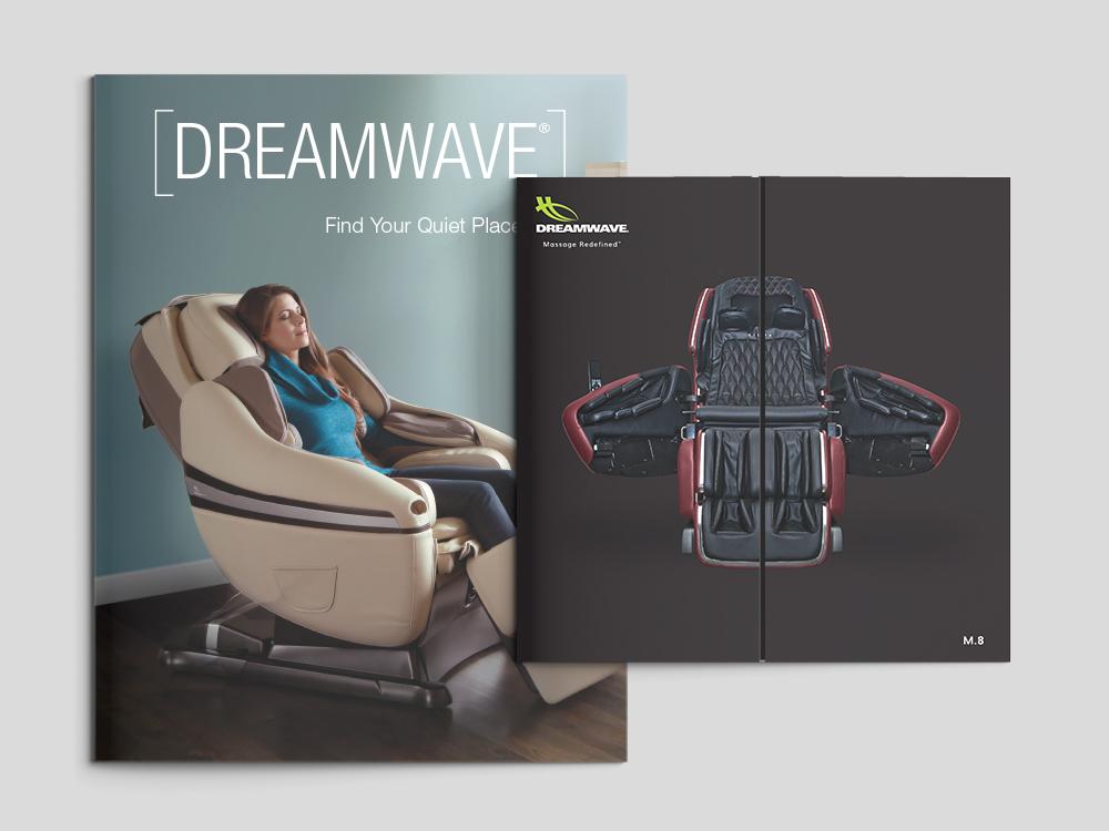 DreamWave Rebrand - Brochure Covers