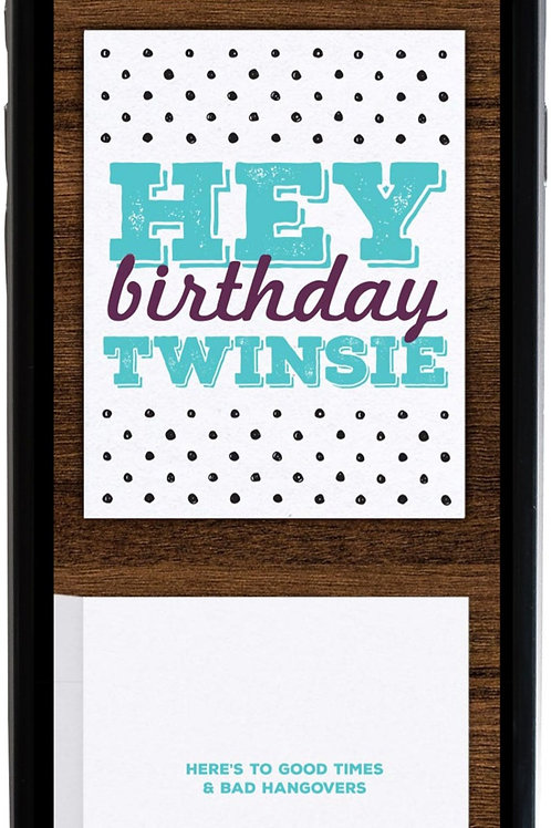 Birthday Twinsie