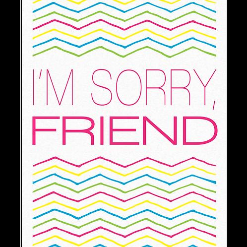 I'm Sorry, Friend